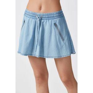 FABLETICS Micah Denim Look Mini Skirt